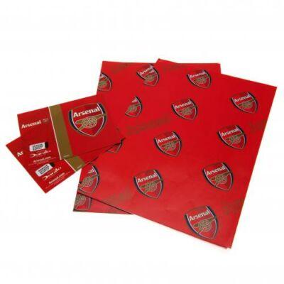 Arsenal csomagoló papír és címke