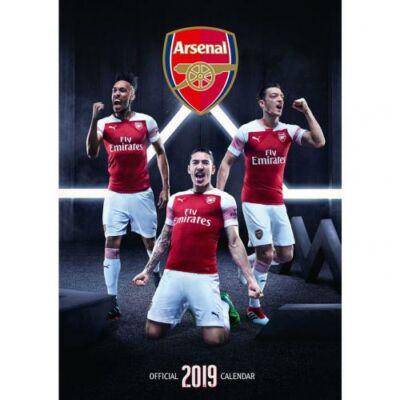Arsenal fali naptár 2019