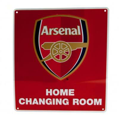 Arsenal tábla - hazai öltöző