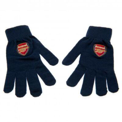 Arsenal kötött kesztyű