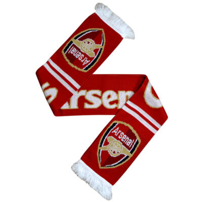 Arsenal kötött sál GUNNERS