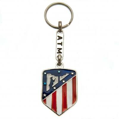 Atletico Madrid fém kulcstartó CREST