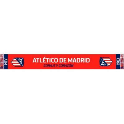 Atletico Madrid kötött sál CORAJE
