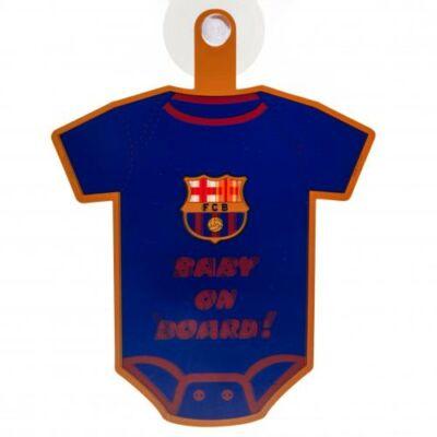 FC Barcelona Baba a fedélzeten