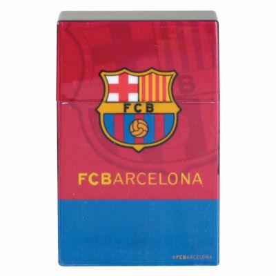 FC Barcelona cigarettatartó műanyag doboz