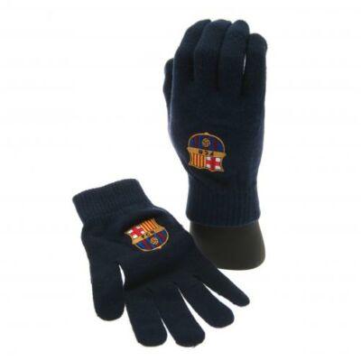 FC Barcelona kötött kesztyű BLUE