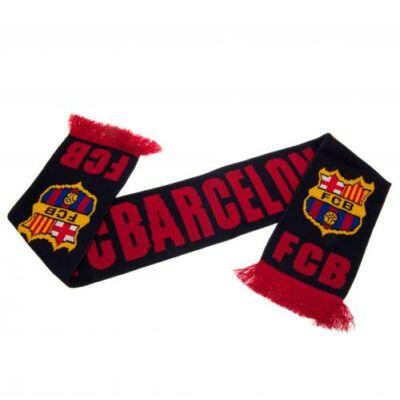 FC Barcelona kötött sál AZUL