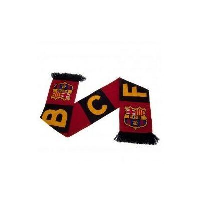 FC Barcelona kötött sál BAR