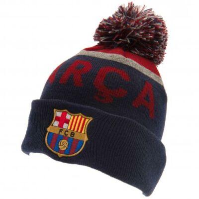 FC Barcelona bojtos kötött sapka NEGO