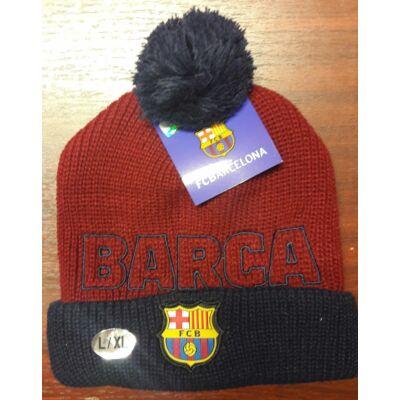 FC Barcelona kötött sapka BORLA