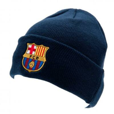 FC Barcelona kötött sapka - visszahajtott