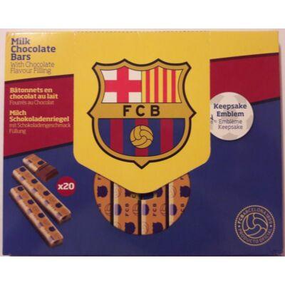 FC Barcelona 20db-os tejcsokoládé