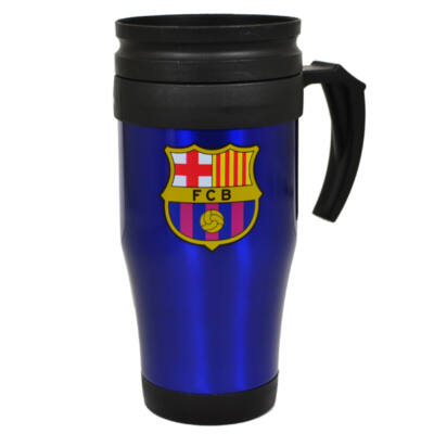 FC Barcelona utazó kék bögre