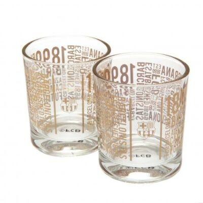 FC Barcelona whiskys pohár szett