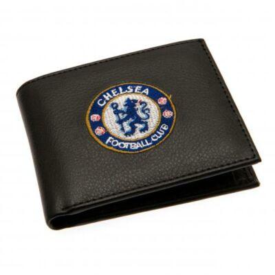 Chelsea címeres bőr pénztárca