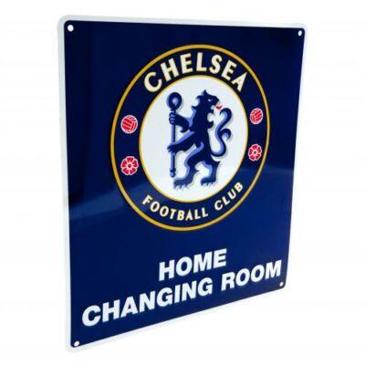 Chelsea hazai öltöző tábla