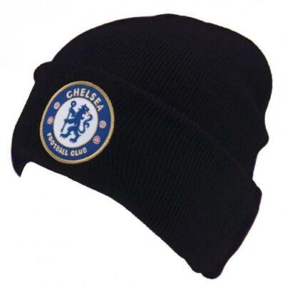 Chelsea visszahajtott kötött sapka