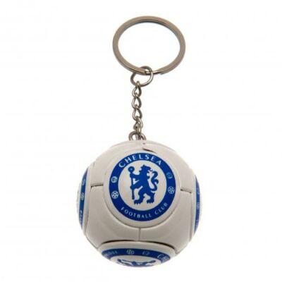 Chelsea focilabda kulcstartó