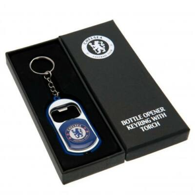 Chelsea sörnyítós kulcstartó