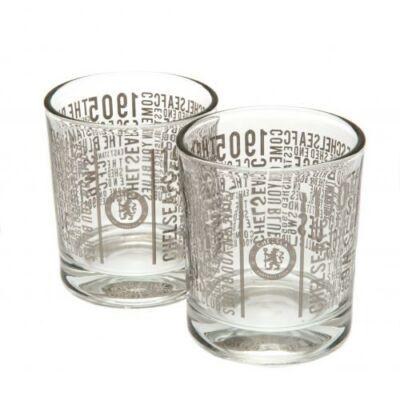 Chelsea whiskys pohár szett