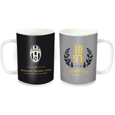 Juventus kerámia bögre GRIGIO