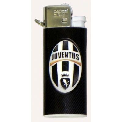 Juventus tűzköves mini öngyújtó NEGRO
