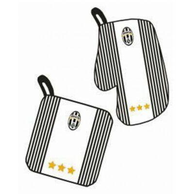 Juventus sütőkesztyű, edényfogó