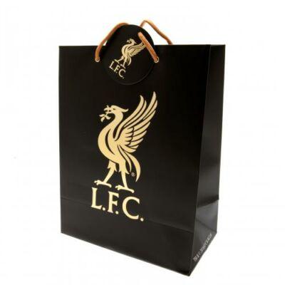 Liverpool ajándék táska BLACK