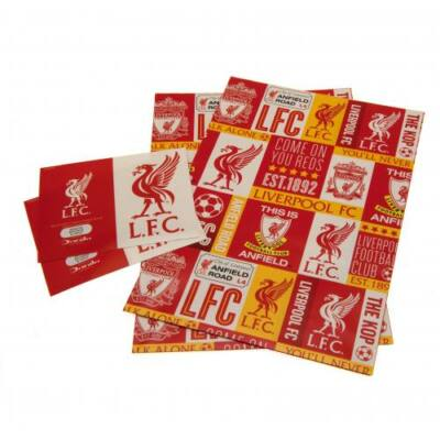 Liverpool csomagoló papír és címke