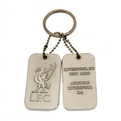 Liverpool dögcédula kulcstartó