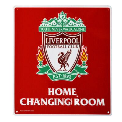 Liverpool tábla - hazai öltöző