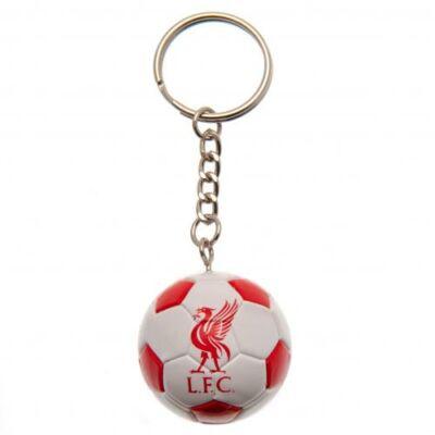 Liverpool focilabda kulcstartó