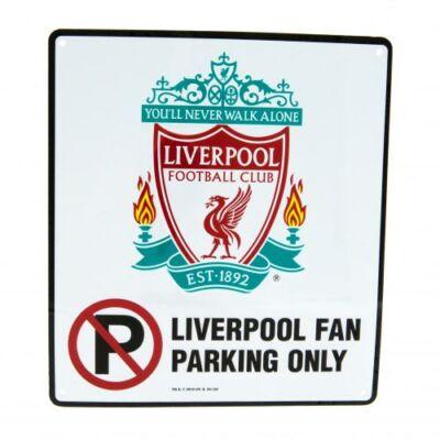 Liverpool Parkoló tilos tábla