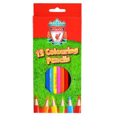 Liverpool színes ceruza készlet (12db)
