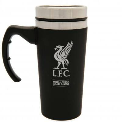 Liverpool utazó bögre BLACK