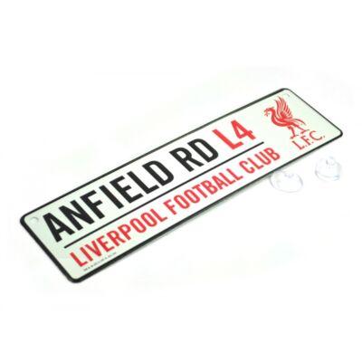 "Liverpool utcatábla ""Anfield"""