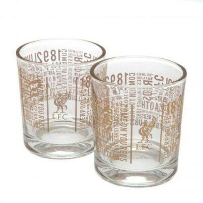 Liverpool whiskys pohár szett