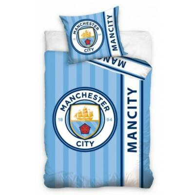 Manchester City ágynemű paplan-és párnahuzat CREST