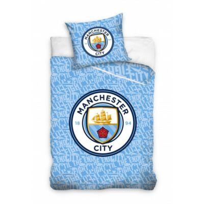 Manchester City ágynemű paplan-és párnahuzat LABEL