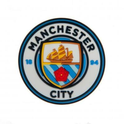 Manchester City hűtőmágnes 3D