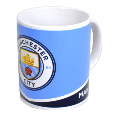 Manchester City kerámia bögre CREST
