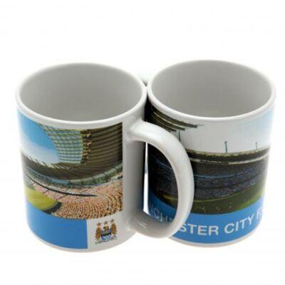 Manchester City kerámia bögre STADION