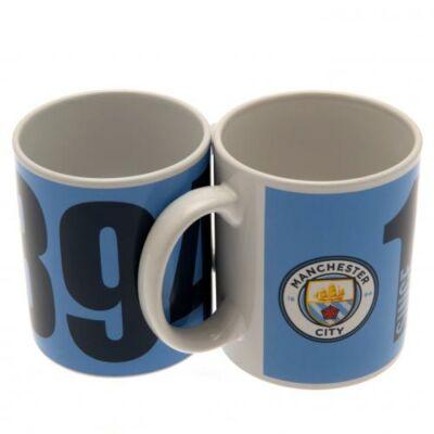 Manchester City kerámia bögre YEAR