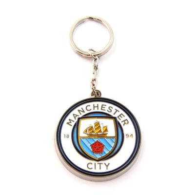 "Manchester City fém kulcstartó ""Crest"""
