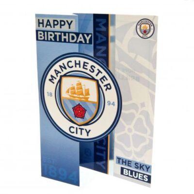 Manchester City születésnapi kártya