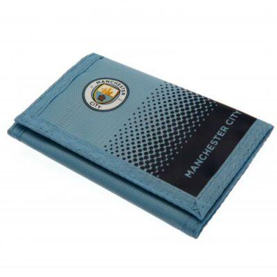Manchester City tépőzáras pénztárca FADE