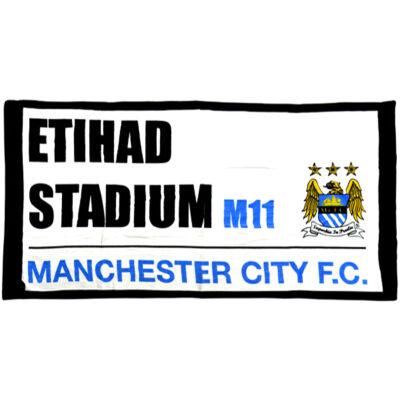Manchester City törölköző STREET