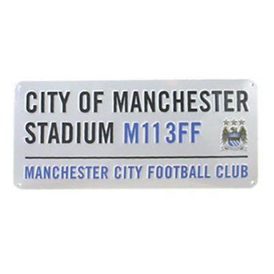 Manchester City utcatábla