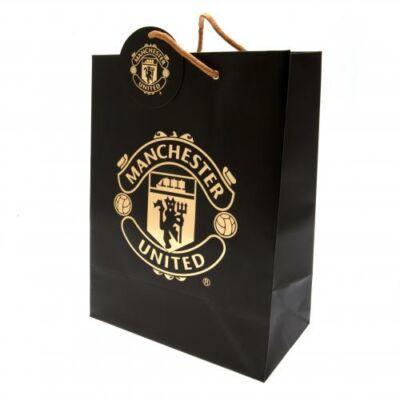 Manchester United ajándék táska BLACK