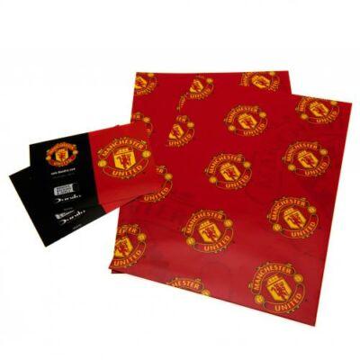 Manchester United csomagoló papír és címke
